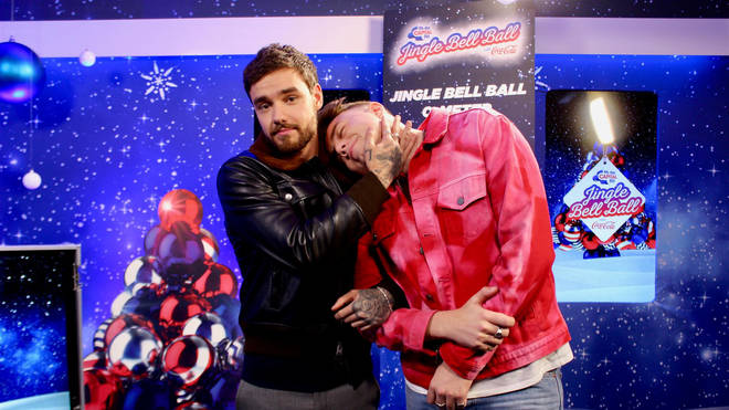 Liam Payne and Roman Kemp at Jingle Bell Ball 2018
