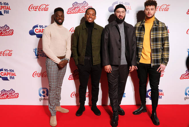 Rak-Su hit the red carpet at the Jingle Bell Ball 2018