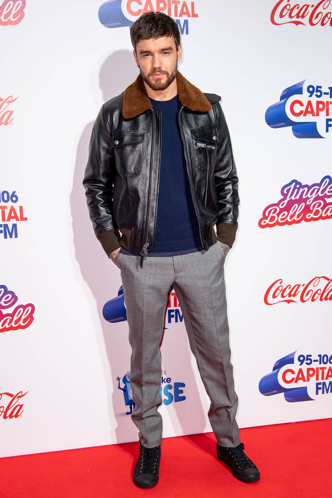 Liam Payne on the red carpet at the Jingle Bell Ball 2018