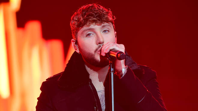 James Arthur at the Jingle Bell Ball