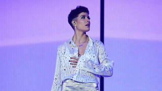 Halsey lit up the O2 with her beautiful set.