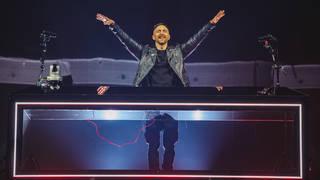 David Guetta performing at Capital's Jingle Bell Ball 2018