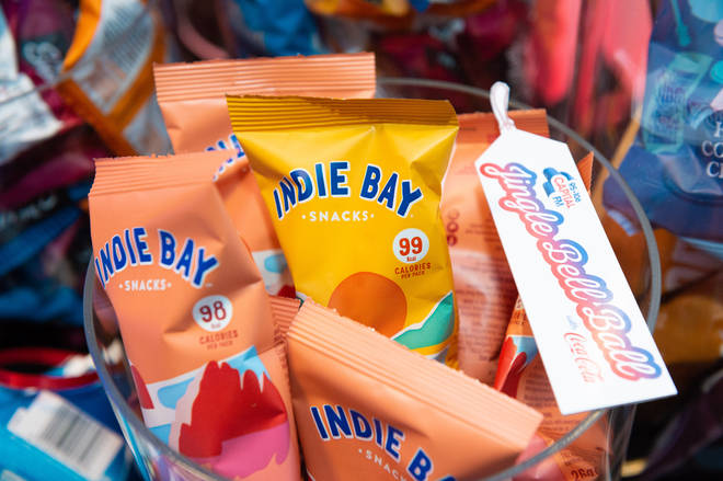 Indie Bay are keeping us in the snacks backstage at the JBB 2018
