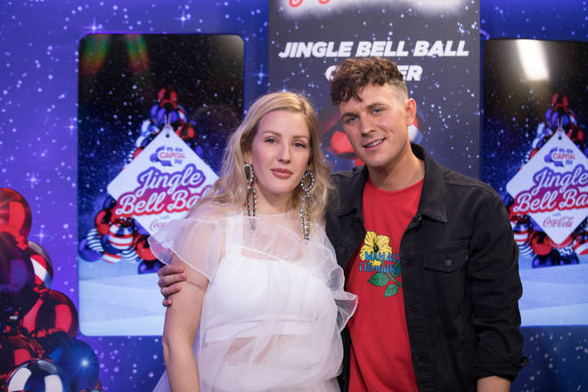 Ellie Goulding caught up with Jimmy Hill backstage at the #CapitalJBB
