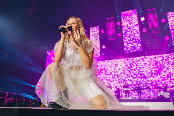 Ellie Goulding live at the Jingle Bell Ball 2018