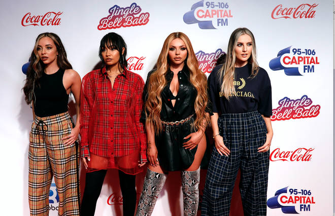 Little Mix step out on the JBB red carpet
