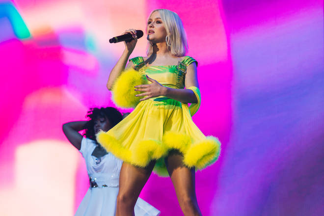 Zara Larsson at the Jingle Bell Ball 2018 live