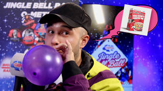 Jax Jones sang 'You Don't Know Me' while doing helium