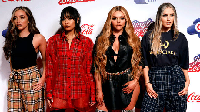 Little Mix on the JBB red carpet
