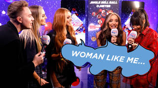 Little Mix caught up with Roman Kemp backstage to play a game of charades