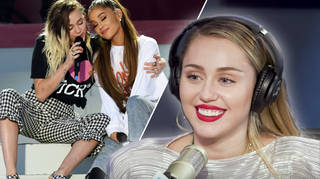 Miley Cyrus wants to be best friends with Ariana Grande