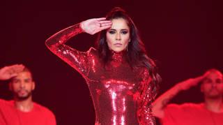 Cheryl at the Jingle Bell Ball 2018