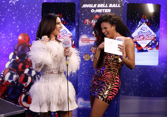 Cheryl joined Vick Hope backstage at the #CapitalJBB