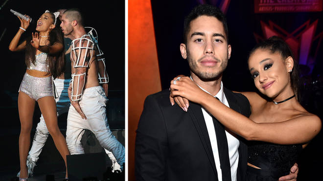 Ariana Grande and Ricky Alvarez dated for one year.