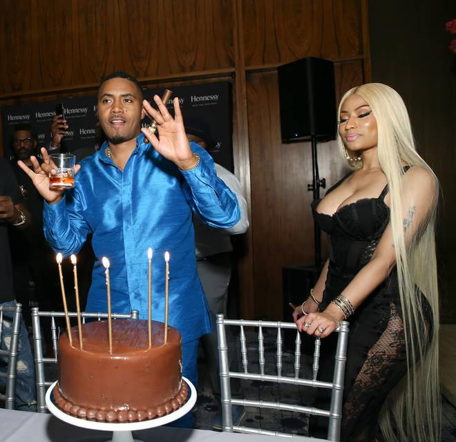 Nicki Minaj celebrated boyfriend, Nas' birthday