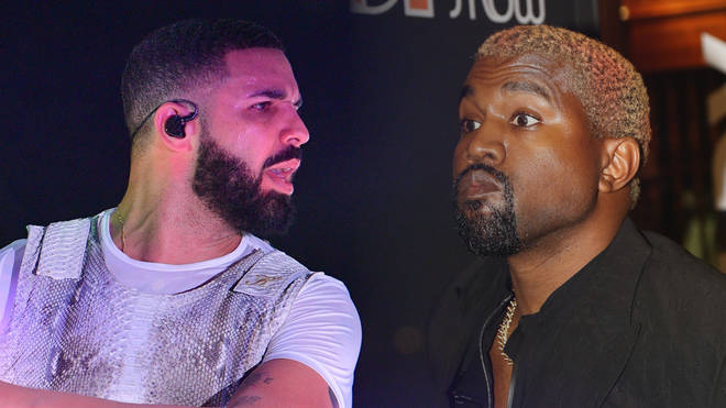 Kanye West has gone to Twitter to rant about about Drake
