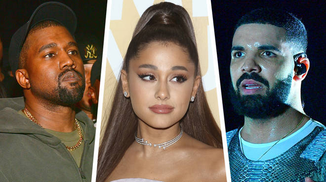 Ariana Grande shades Kanye West and Drake
