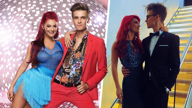 Joe Sugg confirmed his relationship to his Strictly Come Dancing partner
