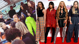 Little Mix joined their fans on a boat tour around Amsterdam