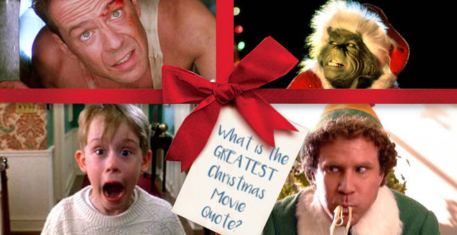 What is the GREATEST Christmas movie quote EVER?