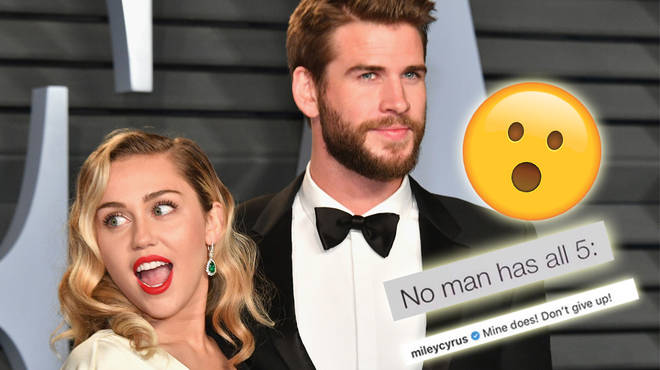Miley Cyrus made this shocking admission about Liam Hemsworth.