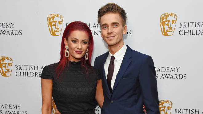 Joe Sugg announced his relationship with Dianne Buswell on Instagram