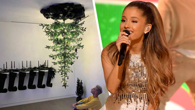 Ariana Grande says her upside-down tree is a metaphor