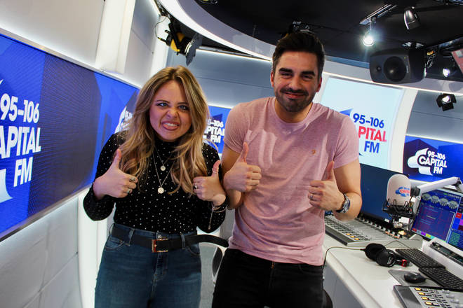 Emily Atack caught up with Rob Howard