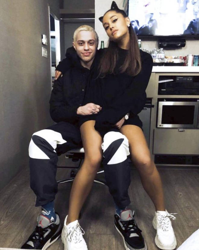 Ariana Grande and Pete Davidson got engaged after a month of dating