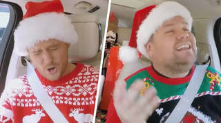 You don't want to miss the ultimate festive Carpool Karaoke