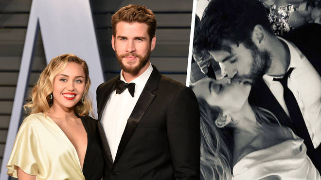 Miley Cyrus and Liam Hemsworth confirmed their marriage on social media