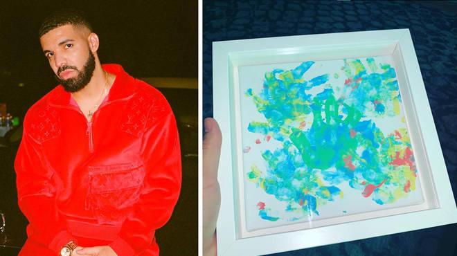 Drake shows off his sons Christmas gift