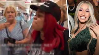 Cardi B's publicist shouted at a fan who mocked Cardi B's divorce