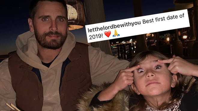 Scott Disick has been slammed for posting a 'racist' photo of his daughter Penelope