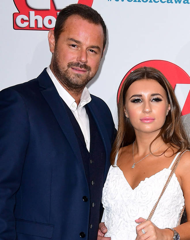Dani Dyer with dad Danny Dyer