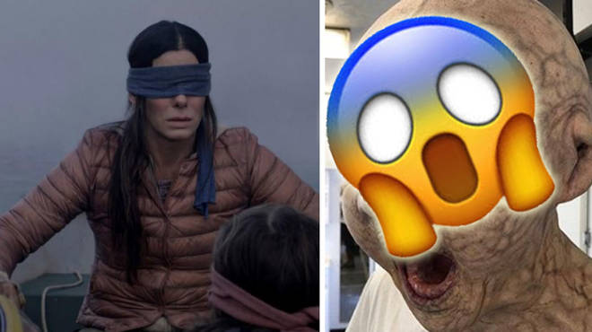 Here's what the monsters from Bird Box were meant to look like.