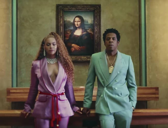 Jay Z and Beyonce star in the 'Apes**t' music video