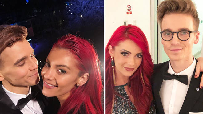"""Joe Sugg says he """"refuses"""" to watch girlfriend Dianne Buswell on Strictly Come Dancing"""