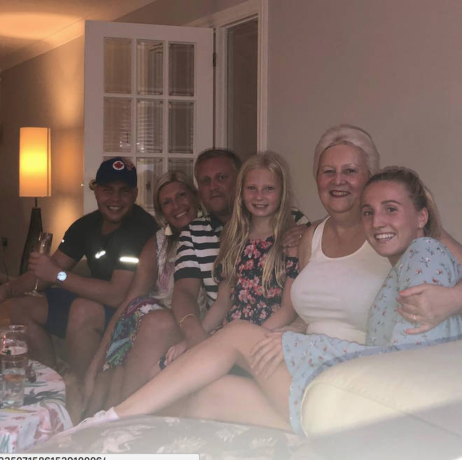 Jack's family cheer him on to win during 2018 Love Island