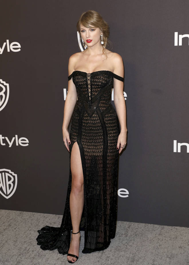 Taylor Swift turned up to the 2019 Golden Globes to present an award with Idris Elba