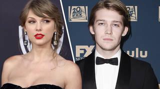 Taylor Swift & Joe Alwyn kept their distance at the 2019 Golden Globes