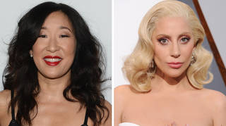 Sandra Oh and Lady Gaga have a funny exchange in Golden Globe opening speech