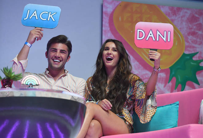 Dani Dyer met her partner, Jack, on the 2018 series of Love Island