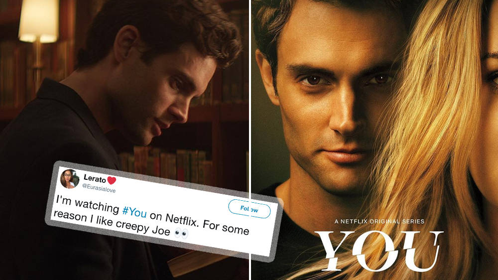 Netflix's YOU: Viewers Can't Help But Love Creepy Stalker ...