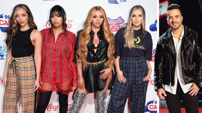 Little Mix are said to release a song with Luis Fonsi