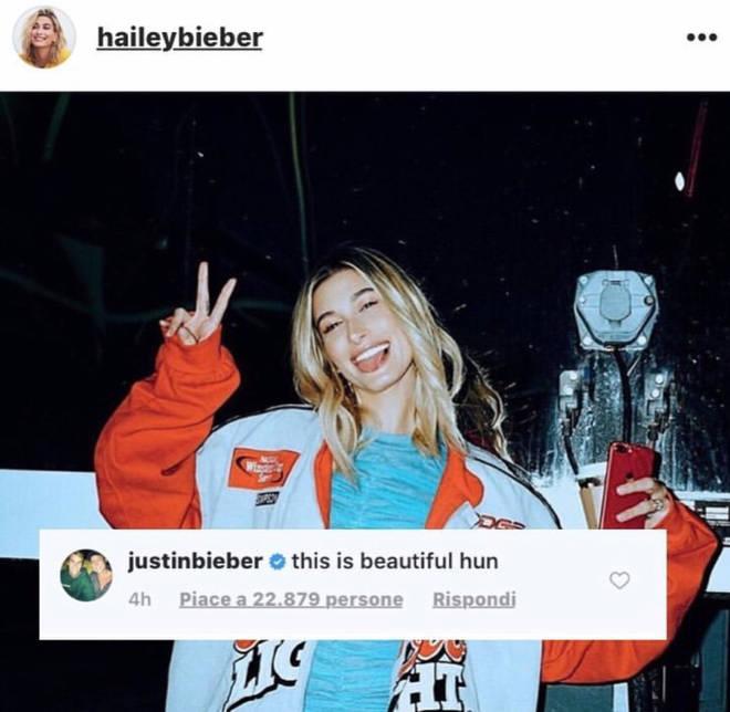 Justin Bieber praises Hailey Baldwin for heartfelt Instagram statement about anxiety