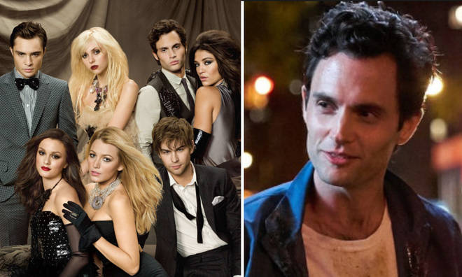 Penn Badgley appears in both hit shows