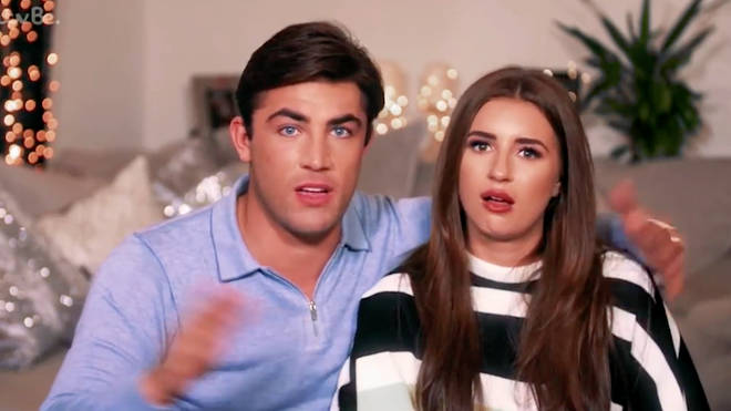 Jack Fincham said he didn't recognise Dani Dyer's 'chubby fingers'