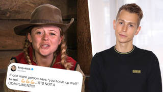 James McVey praised Emily Atack for being brave in the I'm A Celebrity... jungle