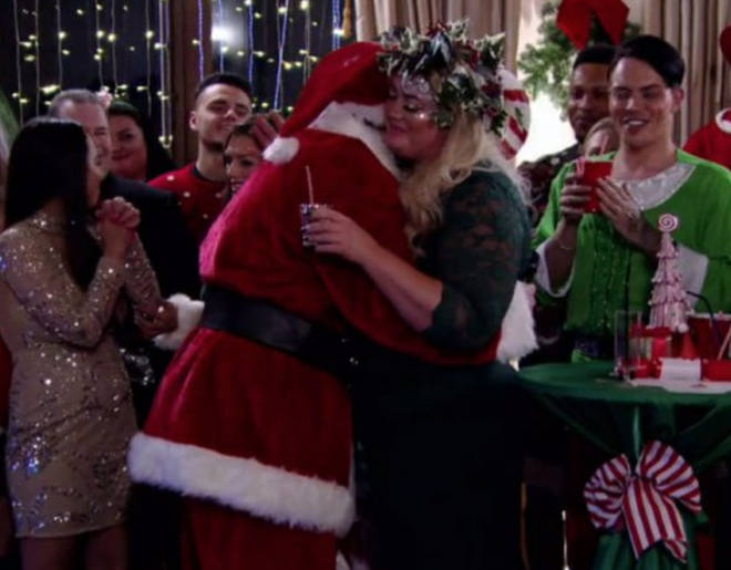 Finally! Arg confessed his true feeling for Gemma on the 2017 Christmas special.